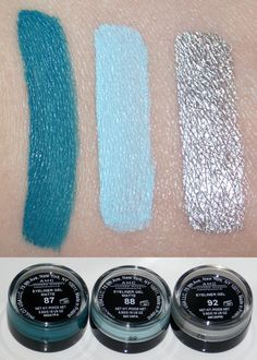 Inglot AMC gel liners. I have number 87, sooo awesome. Highly recommend!!