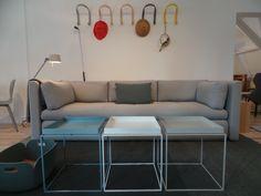 Tray tables, Hackney sofa