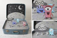 Kids Play Suitcase | Kids | Create - with templates!