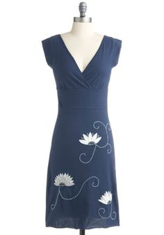 Flowering in Fair Trade Dress, #ModCloth