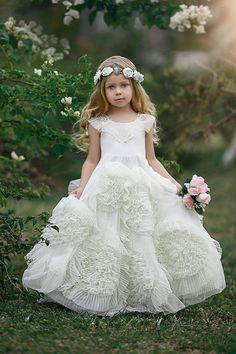 30 Best Pretty Princess Images Girls Dresses Flower Girls Little
