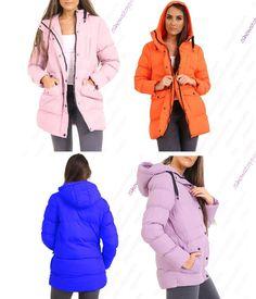 6f06f400 Womens Padded Coat Hooded Puffer Longline Parka Size 8 10 12 14 16 #fashion  #