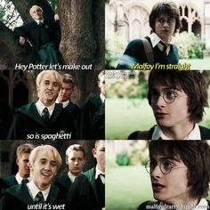 I'm so sorry I don't even ship Drarry, but this is hilarious