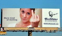 She's Tired of Waiting Billboard – Bet You look twice – Funny Pic