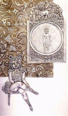 Ramona adolescente, 1973: Obra de Antonio Berni