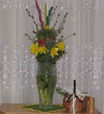 Znalezione obrazy dla zapytania ozdoby na swieta wielkanocne stroiki na stol