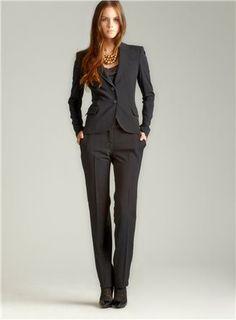 D  Black Pant Suit $240