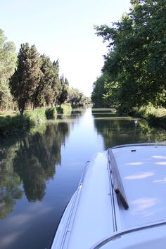 Canal du Midi, tranquille...
