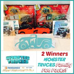 Looking for a cute kids movie? Enter to win 1 of 2 Monster Trucks Family Fun Pack here!
