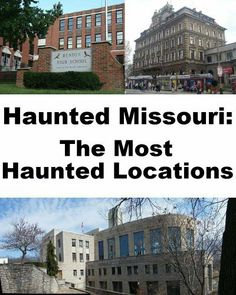 Haunted Missouri: The Most Haunted Locations by Jeffrey Fisher. $4.99