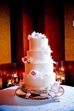 Simple and Elegant: Frangelico Soaked Chocolate Cake with Hazelnut Mousse Filling & Chocolate Cake with White Chocolate Mousse and Vanilla Buttercream