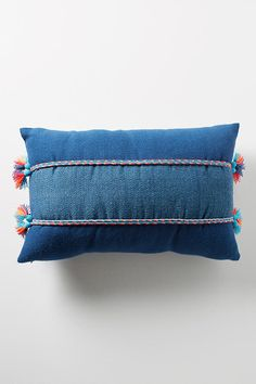 Slide View: 1: Acosta Corded Bolster Pillow