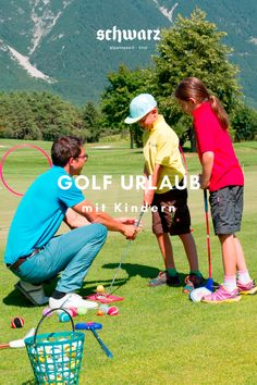 Ein Golf Urlaub in den Bergen Tirols ist ein wahrer Genuss. Auch mit Kindern wird der Golfurlaub zu einem unvergesslichen Erlebnis. Unsere speziellen Angebote für Kids sorgen für einen rundum perfekten Golfurlaub mit Kindern - am Golfpark Mieminger Plateau in Tirol. Hotels, Bergen, Sports, Child Care, Family Vacations, Road Trip Destinations, Hs Sports, Sport, Mountains