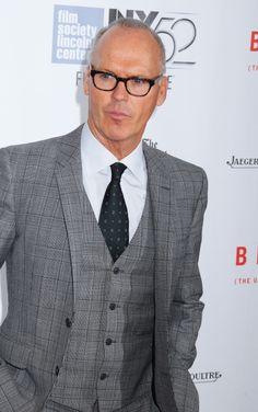 michael keaton birdman premiere - Google Search Michael Keaton, Suit Jacket, Breast, Suits, Jackets, Google Search, Fashion, Down Jackets, Moda