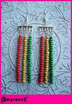 Rasta earrings
