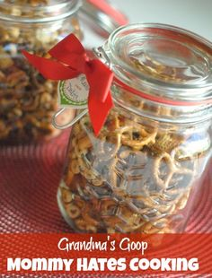 Grandma's Goop I Mommy Hates Cooking {Great GIFT idea!}