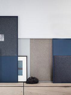 Frame Pinboard - Grey - Large