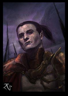 ArtStation - Vampire Lieutenant Dumah, Daniel Cabuco