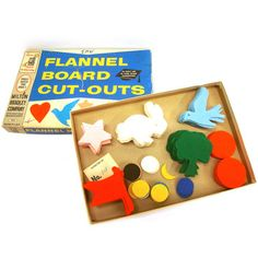 Milton Bradley Board Cut Outs, $47, now featured on Fab.