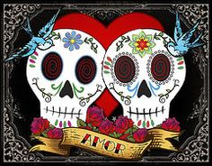 Skull Featured Images - Love Skulls II by Tammy Wetzel