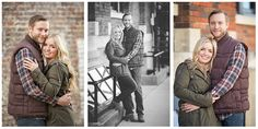Downtown McKinney Texas Engagement Photography