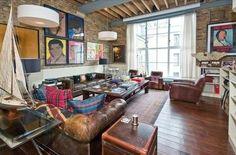 Awesome Houses! - Artsy London Loft