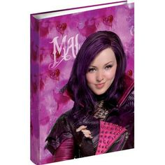 Mal 3 ring binder if I get this I would always bring it to school even though I might get teased by loving descendants