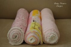 Super Soft Flannel and Chenille Burp Cloths #bestofEtsy #etsymnt