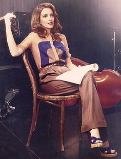 Classy Comedian Photoshoots : Tina Fey InStyle US