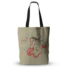 "Carina Povarchik ""Mermaids Lovely"" Everything Tote Bag"