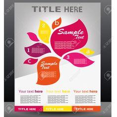 Vector - Vector business presentation, brochure, flyer, magazine cover poster design template