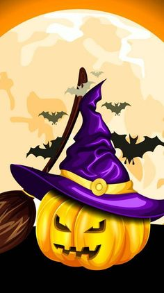Search free halloween Ringtones and Wallpapers on Zedge and personalize your phone to suit you. Start your search now and free your phone Deco Porte Halloween, Dulceros Halloween, Halloween Canvas, Halloween Painting, Halloween Patterns, Halloween Pictures, Halloween Projects, Holidays Halloween, Halloween Themes