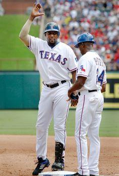 Vladimir Guerrero - Texas Rangers  baseballhalloffame Rangers Baseball d229f116332