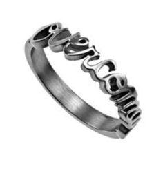 Overcomer ring