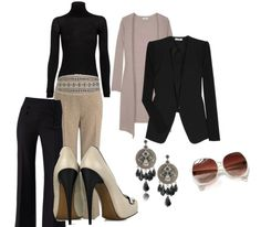conservative business attire (travel)