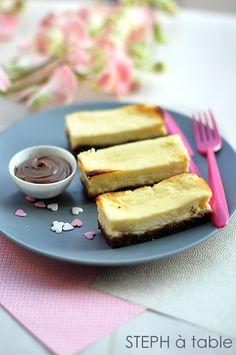 cheese cake au nutella