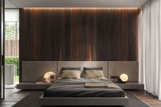 Simple And Modern Bedroom Interior Design Ideas Bedroom Furniture, Furniture Design, Bedroom Decor, Bedroom Ideas, Bedroom Headboards, Ikea Bedroom, Furniture Nyc, Furniture Online, Bedroom Lighting