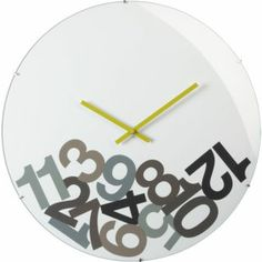 Okay, THIS is the perfect clock to confuse my kid, but I'm not dropping $100 on it.