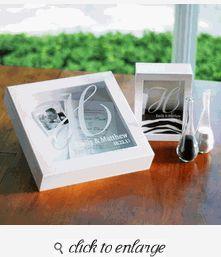 The Wedding Shadow Box Set - Unity Sand Ceremony Frame Large Keepsake Box, Unity Candle Alternatives, Unity Sand, Wedding Frames, Wedding Ideas, Wedding Stuff, Wedding Things, Wedding Decor, Wedding Planning