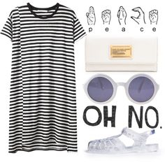 """spring / summer / date outfit (jelly sandals are a no-go for me)""""......such a Yesssss outfit!"""