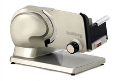 Chef'sChoice Electric Food Slicer 615 Cast Aluminum Stainless Steel Tilted NEW! Specialty Appliances, Small Appliances, Kitchen Appliances, Kitchen Gadgets, Commercial Appliances, Kitchen Stuff, Kitchen Ideas, Meat Slicers, Chef's Choice