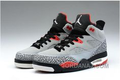 the latest fd677 42732 Jordan son of mars low cement grey black fire red Nike Air Jordan Retro, Air