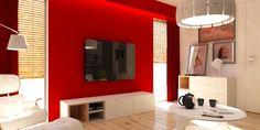 ściany, kolory, dekoracje - ideał salonu