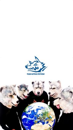 MAN WITH A MISSION/マンウィズ[03]iPhone壁紙 iPhone 7/7 PLUS/6/6PLUS/6S/ 6S PLUS/SE Wallpaper Background