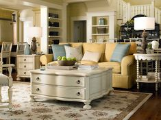 River House Collection- The Family Room Table, Bobbin Side Table, and Chair Side Table