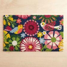 Folksy Birds Doormat