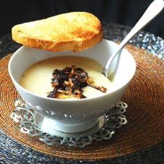 Creamy almond-potato soup by ALB