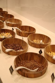 Macetas / Bowls para producto pequeño, producto a granel.