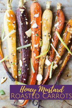 Sweet tender carrots glazed in a tangy honey mustard and roasted  Mein Blog: Alles rund um Genuss & Geschmack  Kochen Backen Braten Vorspeisen Mains & Desserts!