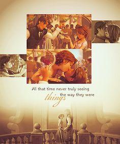 Tangledg kissing never grows old!!